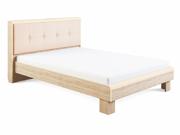 Кровать Оливия с мягкой спинкой 1,4