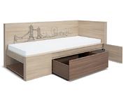 Кровать Город 0,8