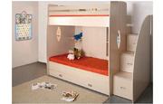 Кровать двухъярусная Д-1