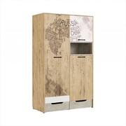 Шкаф для одежды Дублин Стоун