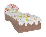 Кровать 0,8х2,0 Пряничный домик