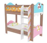 Кровать двухъярусная Пряничный домик