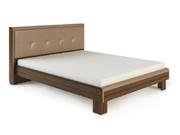Кровать Оливия с мягкой спинкой 1,6