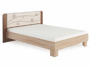Кровать Сальвия 1,4 с мягкой спинкой